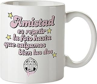 """Planeta Gifts La Vecina Rubia Taza Mug """"Amistad"""","""
