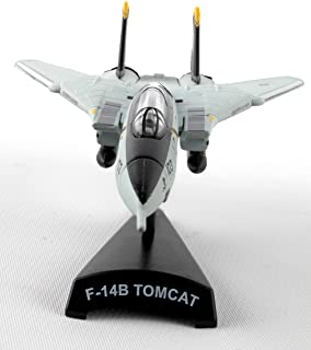 Daron Worldwide Trading Postage Stamp F-14 Tomcat Vf-103 Jolly Rogers 1/16o Scale Airplane Model
