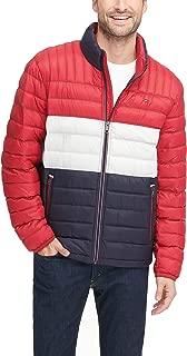 tommy hilfiger red white blue jacket