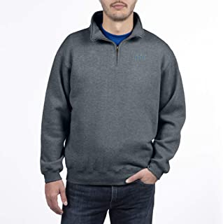 Top of the World NCAA Men's Dark Heather Classic Quarter Zip Pullover