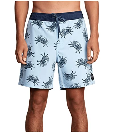 RVCA VA Elastic Trunks 17 (Pale Blue) Men