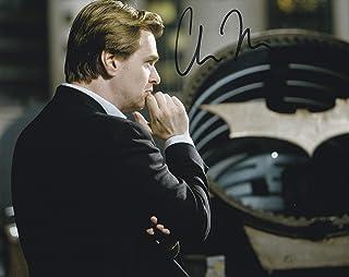 直筆サイン入り写真 バットマン ダークナイト クリストファーノーラン 監督/映画 ブロマイド オートグラフ 【証明書(COA)・保証書付き】
