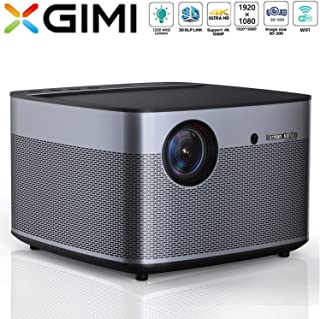 XGIMI H3 Android 3D Home Cinema 4K Smart TV Projector | Native 1080p HD | 1900 ANSI Lumens | Harman/Kardon Hi-Fi Stereo Sp...