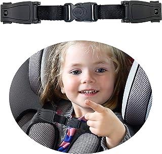 Storchenbeck Universeller Kinder Brustgurtclip Anti Rutsch Baby Brustclip Schutz Kompatibel mit Sitzen, Kinderwagen, Hochstühlen, Schultaschen, max. für 1,5 Zoll breite Kabelbaum.