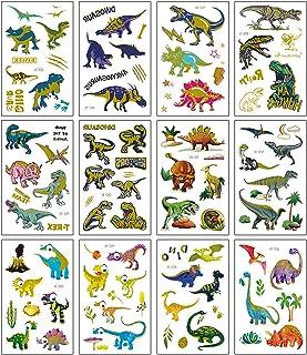 Dinosaurusstickers Voor Kinderen Jongens Meisjes Peuters, Lerarenbeloningsstickers, Dinosaurus Hot Stamping-Tatoeagesticke...