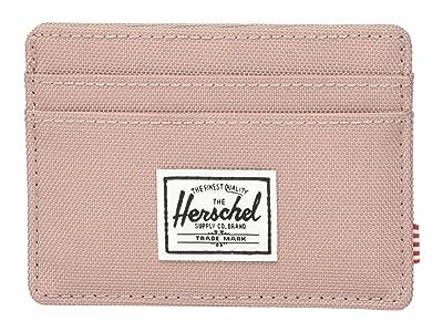 Herschel Supply Co. Charlie RFID (Ash Rose) Wallet Handbags