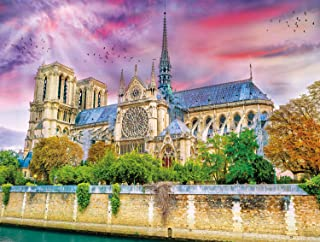 Buffalo Games - Castles Collection - Cathedrale Notre-Dame - 750 Piece Jigsaw Puzzle