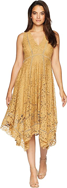 0747129f07c9 Bcbgmaxazria jalina lace blocked sleeveless dress at 6pm.com