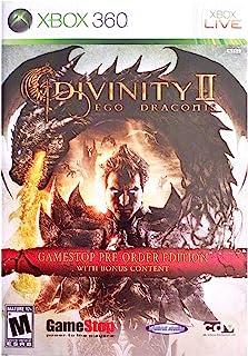 Divinity 2 Ego Draconis RARE Gamestop Pre-order Edition with Bonus Content (Xbox 360)