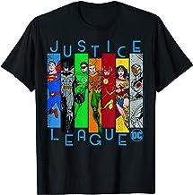 DC Comics Justice League Panels T-Shirt