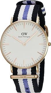 Daniel Wellington Women's Quartz Watch, Analog Display and Nylon Strap - 0509DW