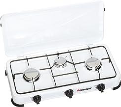 FireFriend KO-6383 Cocina de Gas, 3quemadores, 4000 W, Metal, Blanco