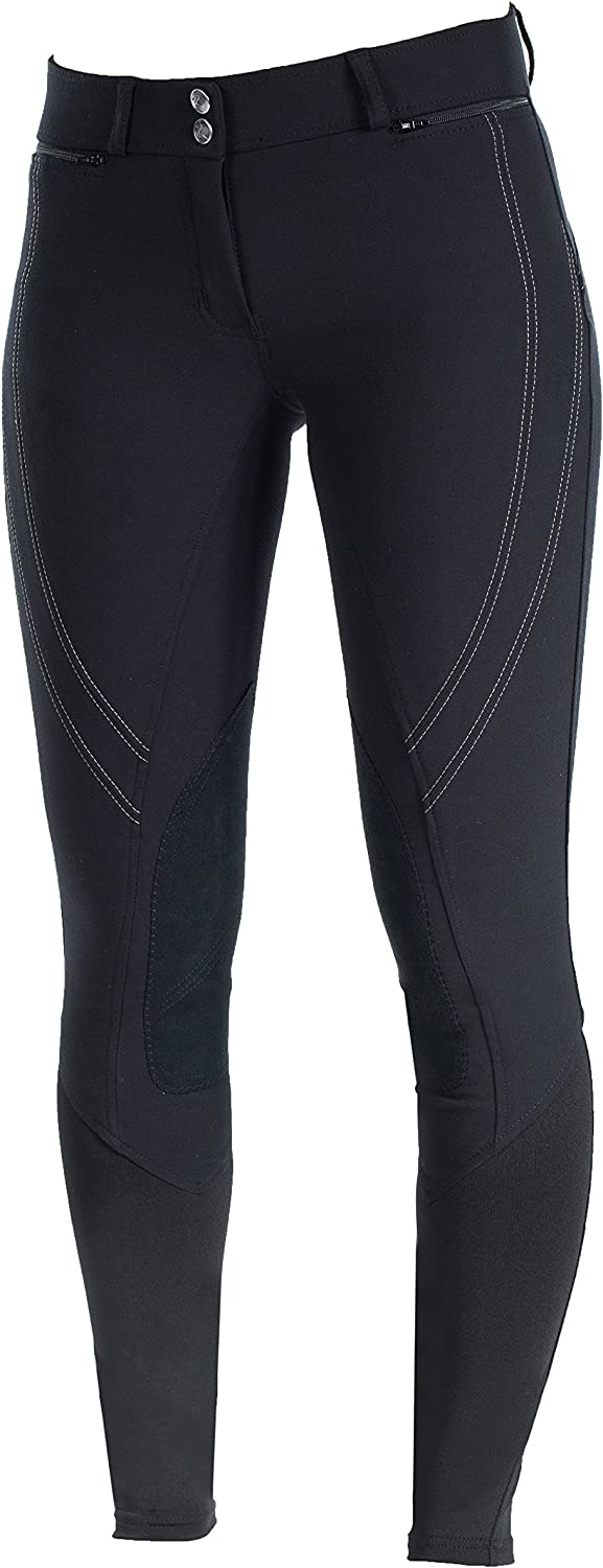 HorZe Supreme Ruby Womens Knee Patch Breeches