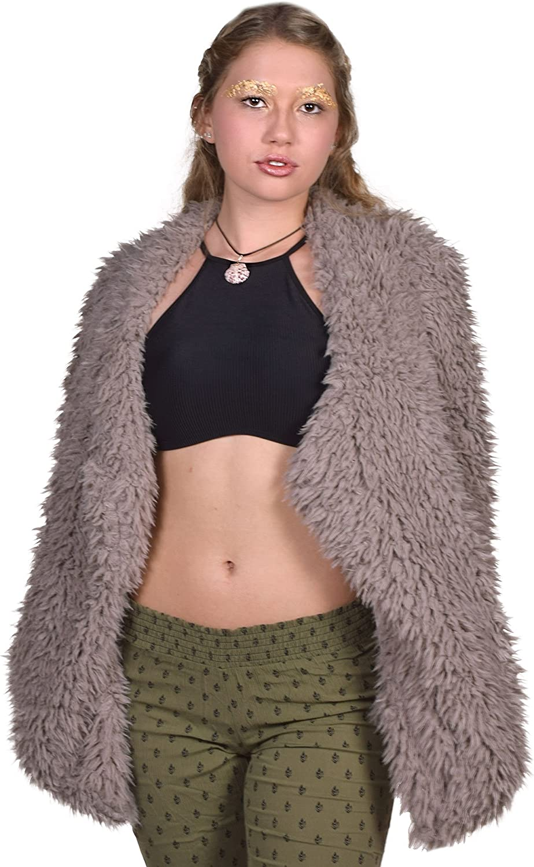 Billabong Junior's Love Faux Fur Jacket