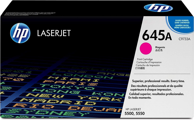 HP 645A   C9733A   Toner-Cartridge   Magenta