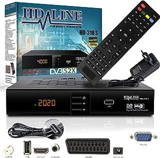 comprar comparacion HD Line 310Sat Receiver–Receptor satélite Digital (HDTV, DVB-S/S2, Full HD 1080p)