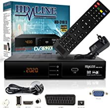 HD Line 310Sat Receiver–Receptor satélite Digital (HDTV, DVB-S/S2, Full HD 1080p)