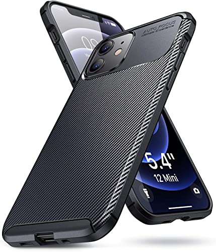 wholesale AINOPE 2020 New iPhone 12 Mini Case [5.4 new arrival inches], Full Covered online Shockproof Protective Case Soft TPU Protective Cover Compatible with iPhone 12 Mini -Black online