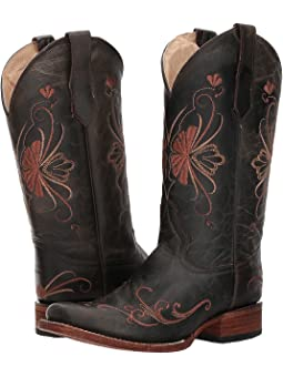 Womens cowboy boots extra wide width +
