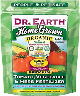 Dr. Earth Home Grown Tomato, Vegetable & Herb Fertilizer