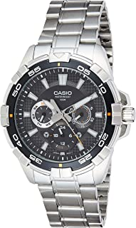 Casio Enticer Black Dial Men's Watch - MTD-1069D-1AVDF (A657)