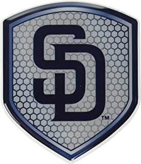 MLB San Diego Padres Team Shield Automobile Reflector