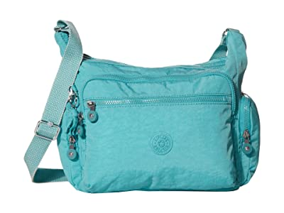 Kipling Gabbie Crossbody Bag (Seaglass Blue) Handbags