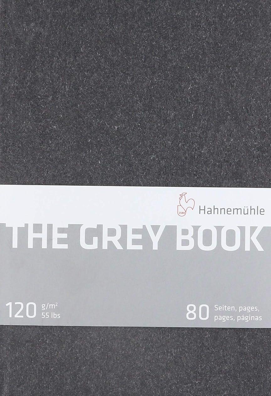 神聖従順先行するHahnemuhle グレーブック スケッチブック A5 (8.3x5.8インチ) 120gsm 40枚/80ページ