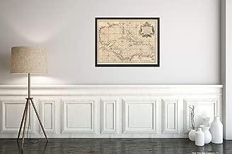 1755 Map Title: Mapa maritimo del Golfo de Mexico e Islas de la America, para el USO de Los navegant
