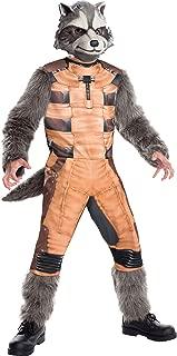 Rubies Guardians of The Galaxy Deluxe Rocket Raccoon Costume, Child Medium