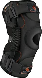 Hinged Knee Brace: Shock Doctor Maximum Support Compression Knee Brace - For ACL/PCL Injuries, Patella Support, Sprains, Hypertension and More for Men and Women - (1 Knee Brace)