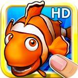 Juegos de puzle de marisco y peces en HD para niños, niños de edad preescolar y escolares con animales, peces y mariscos coloridos