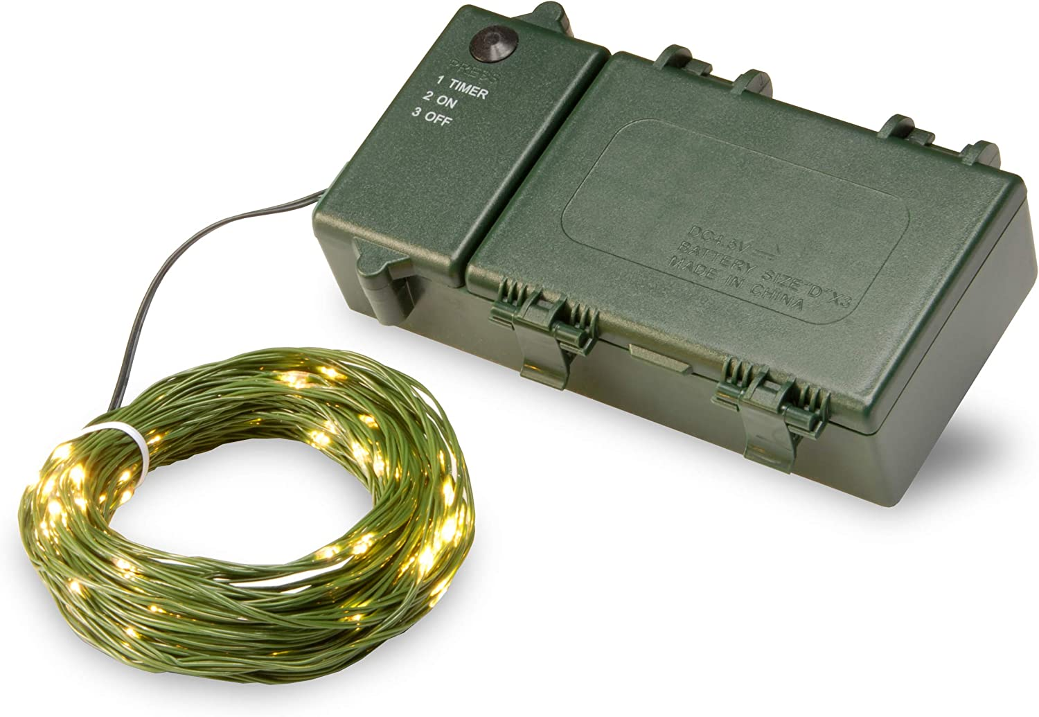 National Tree Ranking TOP10 LS-815Y-100-B Battery Warm Lights OFFicial mail order White