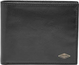 Fossil Men's Ryan Leather RFID Blocking Large Coin Pocket Bifold Wallet