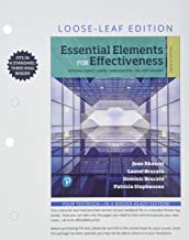 Best essen elements for effectiveness 7th edition Reviews