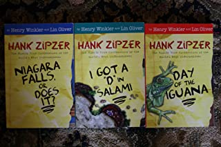 "3 volume Hank Zipzer collection. Includes: 1) Niagara Falls Or Does It? 2) I Got A ""D"" In Salami and 3) Day Of The Iguana"