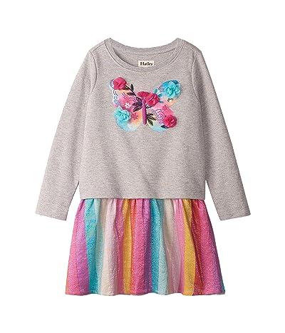 Hatley Kids Floral Butterfly Metallic Drop Waist Dress (Toddler/Little Kids/Big Kids)