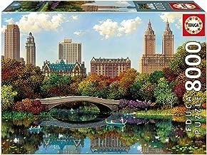 Educa Children's 8000 Central Park Bow Bridge Alexander Chen Puzzle