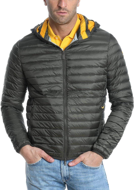 CIESSE Men's CFMJ001264276XP Green Polyester Down Jacket