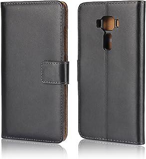 iCoverCase ASUS ZenFone3 (ZE520KL 5.2)用 ケース 手帳型 カバー 平紋 レザー シンプル 携帯 カバー カードポケット スタンド機能 マグネット式 財布型