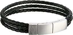 Fossil - Multi-Strand Leather Bracelet
