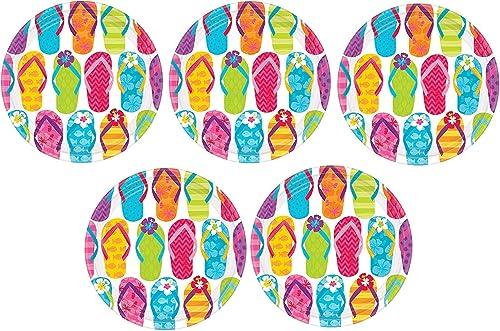 los clientes primero Platos de de de postre de papel con tapa lateral 5-(Pack)  oferta especial
