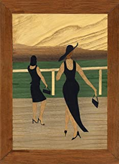 at The Races: Traditional Beginner Marquetry Craft Kit by Cove Workshop: Age 12