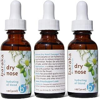 Baraka Dry Nose Oil Nasal Moisturizer (3 pk)
