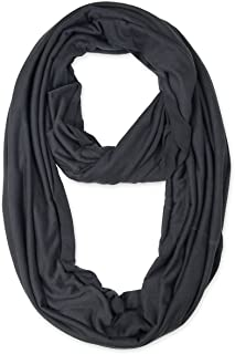 Light Weight Infinity Scarf with Solid Colors
