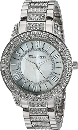 Ladies Roman Numeral Round Alloy Band Watch SMW173