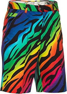colorful golf shorts