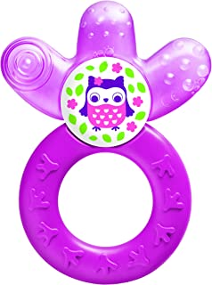 MAM Baby Toys, Teething Toys, Cooler Teether, Girl, 4+ Months, 1-Count