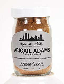 Boston Spice Abigail Adams HANDMADE Mixed Spice Blend Baking Cakes Apple Pumpkin Pie Cookies Donuts Desserts Coffee Hot Ch...
