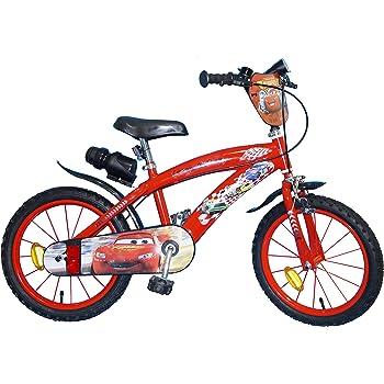 TOIMS Cars - Bicicleta Infantil para niño, Niño, Cars, Rojo ...